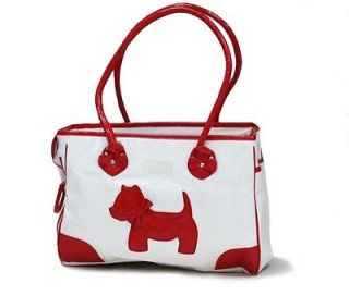 Fashion PU Leather Pet Travel Carrier Tote Bag For Small Dog Cat