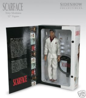 Sideshow Scarface 1/6 Action Figure Final Battle Talking Tony Montana