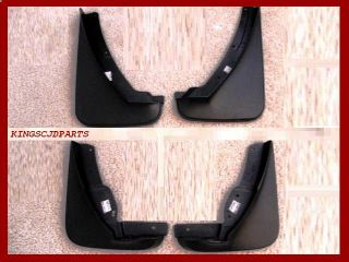 DELUXE MOLDED SPLASH GUARDS MUD FLAPS MOPAR OEM (Fits Dodge