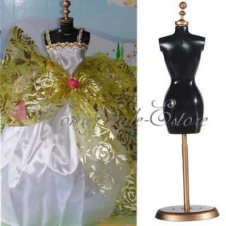 Barbie Doll Stand Detachable Display Holder Dress Clothes Gown Model