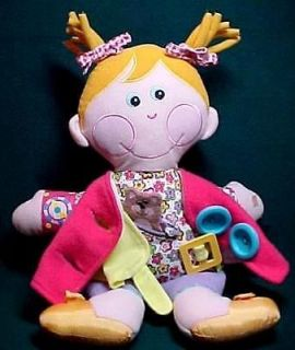 Playskool Hasbro DRESSY BESSY Learning Dress Me Doll 2001