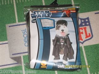Dog Costume  Star Wars  Darth Vader  Large