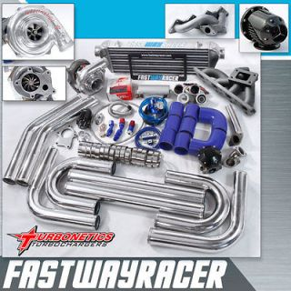 T3/T4 Turbo Kit with Turbonetics Turbo Charger T3 (Fits Dodge Ram 50