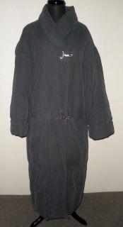 mt EVAN PICONE Grey Long Full Length DOWN Puffer Coat Gray M