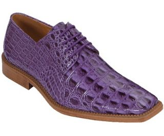 Bolano Lavender Mens Dress Shoe Style Cappi 058 Oxford Crocodile