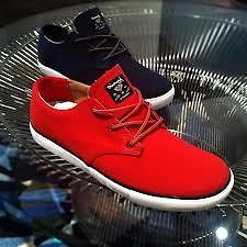 Diamond Supply Co. Diamond lowcuts red/tan canvas Footwear DMND