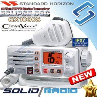 Standard Horizon GX1000S Marine VHF radio white GX1000