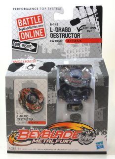 NEW BEYBLADE Metal Fury L DRAGO DESTRUCTOR B148 Attack Hasbro