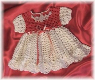 CROCHET PATTERN for MORGAN JO Baby Dress by REBECCA LEIGH    6/9