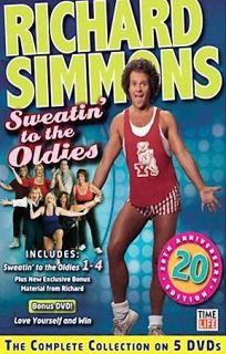Collection of Sweatin to the Oldies, New DVD, Richard Simmons, E.H