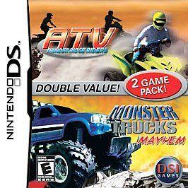 ATV Thunder Ridge Riders / Monster Truck DS (Nintendo DS, 2007)