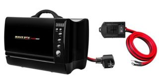 Power Hunt 12 Volt Portable Dual Powered 660 Watt Microwave Oven Kit