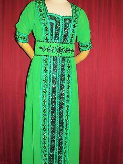 Moroccan Caftan Abaya Dubai Dress Takchita Jilbab Orient Wedding Larp