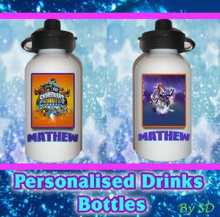 GIANTS NINJINI personalised kids drinks water bottle for lunchbox
