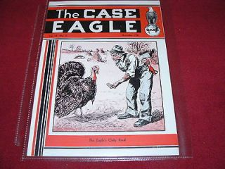 Case Tractor The CASE Eagle Dealers Magazine For November 1931