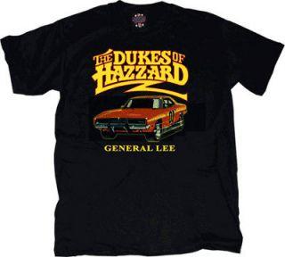 Youh/Mens Dukes of Hazzard General Lee Car  Shir ee
