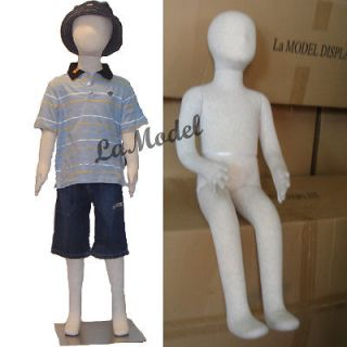 Children mannequin flexible body dress form size 3 yrs