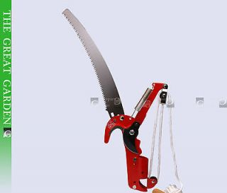 DURABLE STEEL BODY 2 IN 1 Pole tree trimmer Pruner SAW BLADE