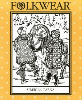 Siberian Parka Sewing Pattern #153 Pullover, Roomy & Easy to Sew XS XL