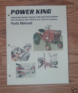 ECONOMY / POWER KING 1600 2400 HITCH AND LIFTS MANUAL