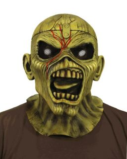 Iron Maiden Piece of Mind Eddie adult latex mask NECA