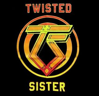 TWISTED SISTER cd lgo CANT STOP ROCK N ROLL Official SHIRT MED new
