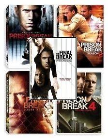 New! Prison Break DVD 1 4 Season 1 2 3 & 4 + Final Break Seasons