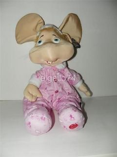NEW GIANT HUGE 24 TOPO GIGIO PLUSH DOLL TOY CANTA EN ESPANOL SINGS