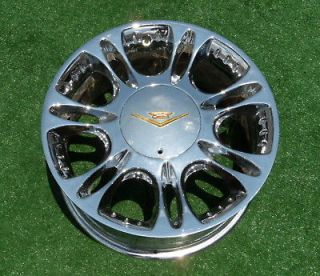 Genuine VOGUE RIO 17 inch Chrome Gold WHEELS Cadillac CTS DTS