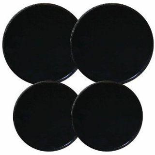 Reston Lloyd Electric Stove Burner Covers, Set of 4 Design Black