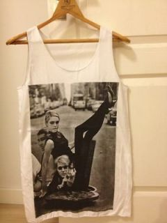 ANDY WARHOL o Edie Sedgwick POP ART Indie WOMEN T SHIRT DRESS Tank TOP