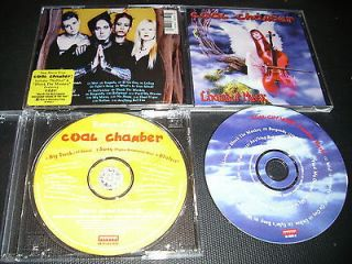 RARE BEST BUY EXCLUSIVE Coal Chamber 2x CD Chamber Music DEADSY