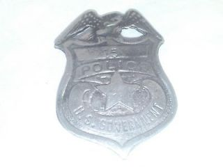 Government Police Law Enforcement Badge Free S&H