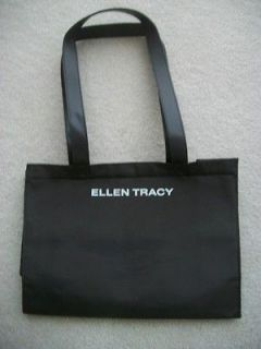 Ellen Tracy authentic expresso brown Tote Bag