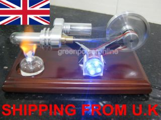 Stirling Engine Electricity Generator Power Generator Educational Toy