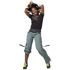 ZUMBA ELECTRO CARGO PANTS, ALL SIZES, 3 COLORS, NWT.