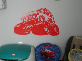 Blazer Monster truck Kids wall Art Room Decal Decals