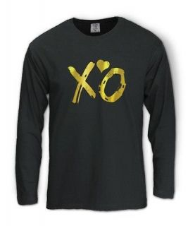 Long Sleeve T Shirt lil wayne OVOXO Octobers VERY OWN DRAKE Gold
