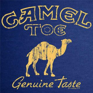 CAMEL TOE funny dirty punk towing T Shirt vintage M navy
