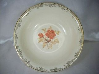 Roebuck and Co. China Serving Bowl 22 Carat Gold Oven Proof,USA