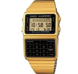 CASIO DATABANK MENS CALCULATOR WATCH DBC611G 1D