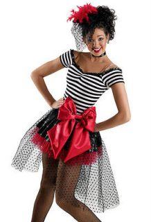 Dance Skate Costume Dress Jazz Tap Twirl Strut 5900