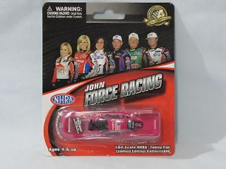 FORCE Traxxas Pink 2012 Mustang Funny Car 1/64th Gold Series Nice