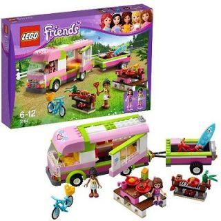 AUGUST 2012 LEGO FRIENDS 3184 ADVENTURE CAMPER *NIB, NEW LEGO FOR