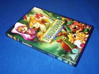 Disney Robin Hood Special Edition Movie DVD