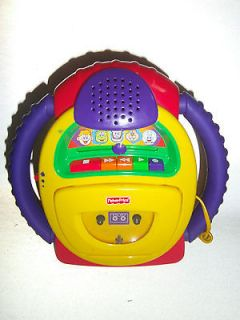 Fisher Price Tuff Stuff Voice Warp Cassette Tape Player Recorder