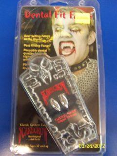 Metallic Fangs Scarecrow Vampire DLX Halloween Costume Accessory Teeth