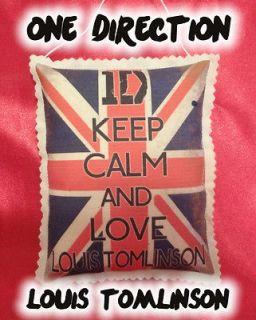 KEEP CALM & LOVE LOUIS TOMLINSON~One Direction Door Hanger Ornament