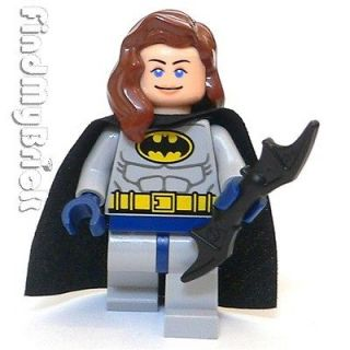 BM019 Lego Custom Batgirl Custom Minifigure ( Bat Girl ) NEW