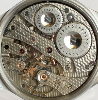 Newly listed STAINLESS STEEL GLAZED CASE for POCKET WATCH MOVEMENT JWC